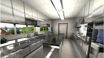 崇州市商用厨房设备之绿色厨房