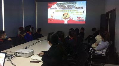 成都新邑航科技有限公司2020年11月27日加强了安全消防知识培训